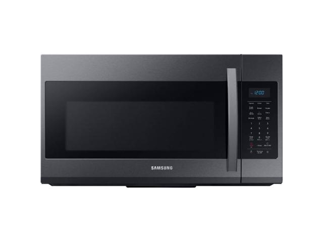Samsung ME19R7041FG 1.9 Cu. Ft. Black Stainless Over the Range Microwave photo