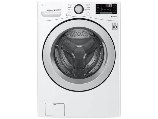 LG WM3500CW 4.5 Cu. Ft. White Front Load Washer photo