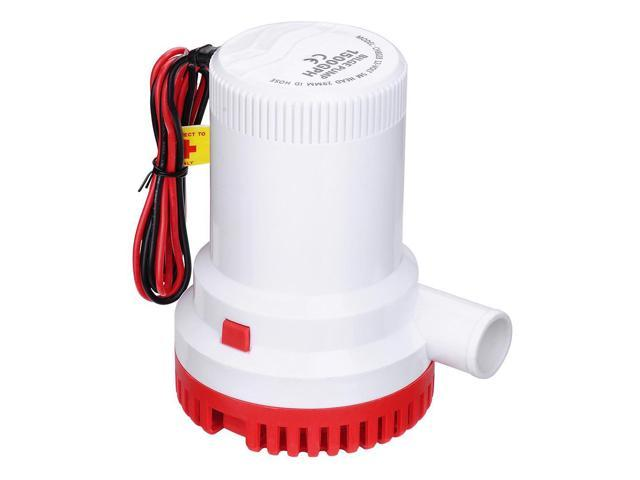 1500GPH 12V Electric Marine Submersible Bilge Sump Water Pump for Boat Yacht photo