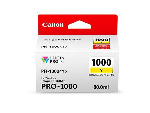 Canon PFI-1000 Y LUCIA PRO Yellow Ink Tank (80ml)