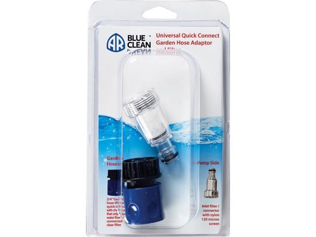 AR Blue Clean 3/4 Pressure Washer Quick Connect Socket Kit with Filter photo