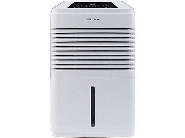 Amana AMAD501AW Energy Star High Efficiency 50-Pint Dehumidifier with 10.5 Bucket Capacity, White photo