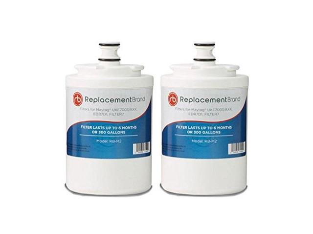 maytag ukf7003 edr7d1 comparable refrigerator water filter 2 pack photo
