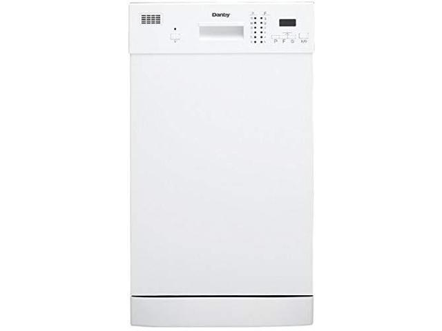 danby ddw1804ew 18' built in dishwasher white photo