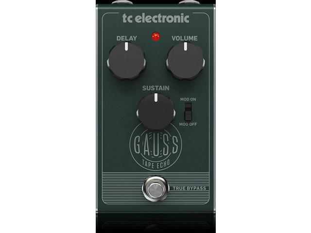 TC Electronic Electric Guitar Single Effect GAUSS TAPE ECHO New photo