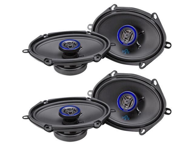 (4) AUTOTEK ATS5768CX 5x7'/6x8' 1000 Watt 2-Way Car Audio Coaxial Speakers
