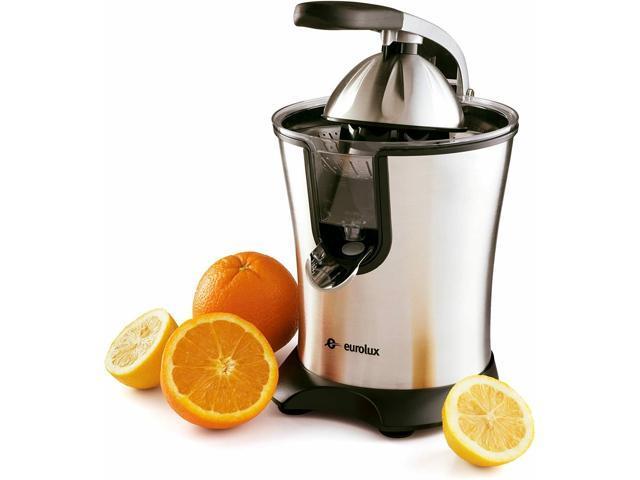 Orange Juicer Electric Press Extractor Machine Fruit Juice Squeezer 160W Silver photo