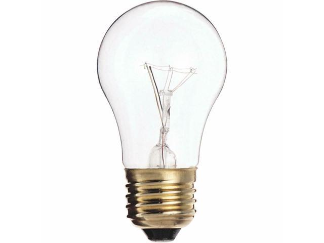 Satco 40W Clear Medium A15 Incandescent Appliance Light Bulb S3720 - 1 Each photo