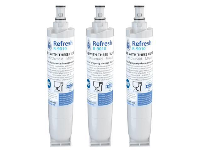 Refresh Replacement Water Filter - Fits Kenmore 9010 Refrigerators (3 Pack) photo