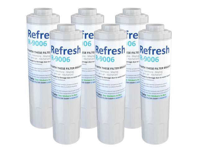 Refresh Water Filter - Fits KitchenAid KRFF305ESS Refrigerators (6Pack) photo