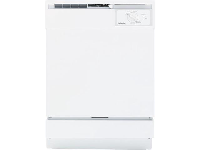 Hotpoint - 24' Built-In Dishwasher - White photo