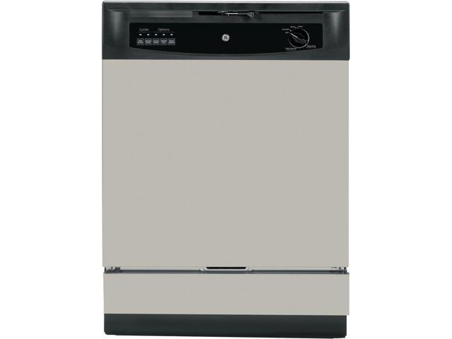 GE - 24' Built-In Dishwasher - Silver photo