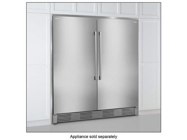 Electrolux - Double Collar Trim Kit for Select Electrolux All Refrigerator and All Freezer models - Stainless steel photo