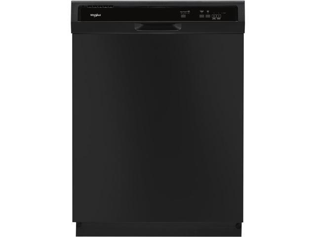 Whirlpool - 24' Built-In Dishwasher - Black photo