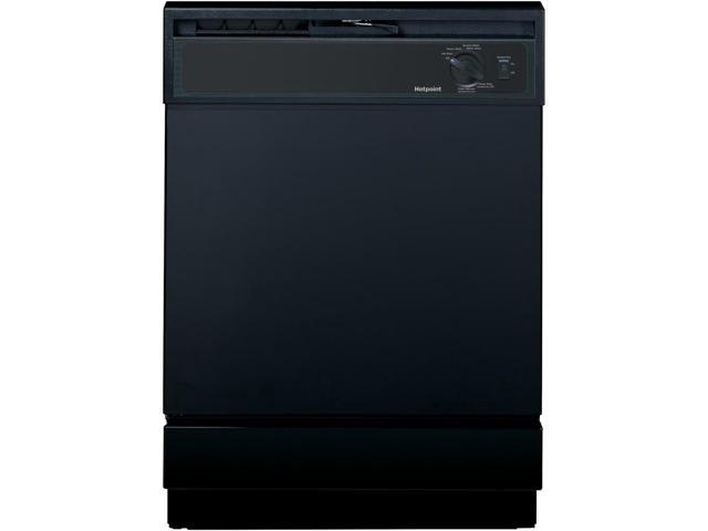 Hotpoint - 24' Built-In Dishwasher - Black photo