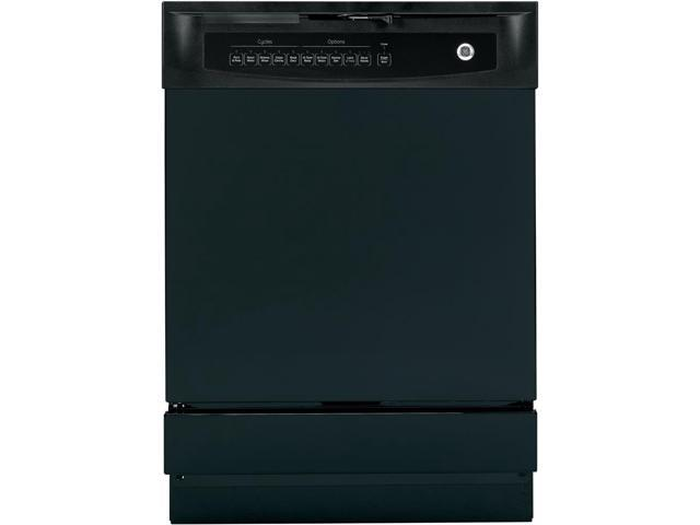 GE - 24' Built-In Dishwasher - Black photo