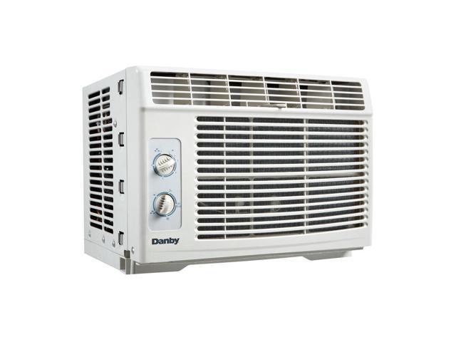 Danby 5000 BTU Window Air Conditioner, Cools up to 150sqft w/2 Fan Speeds, White photo