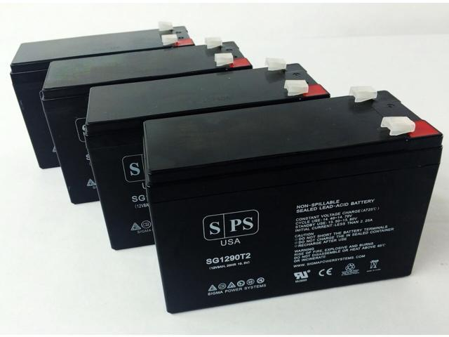 SPS Brand 12V 9Ah Replacement Battery for Maruson Technology Power UPS-900A (Terminal T2) (4 Pack) (681827493444 Vehicles & Parts Motor Vehicle Parts) photo