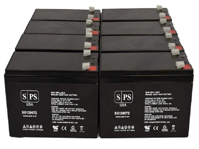 SPS Brand 12V 9Ah Replacement Battery for Maruson Technology Sigma UPS SIG-10000 (Terminal T2) (8 Pack) (681827519335 Vehicles & Parts Motor Vehicle Parts) photo