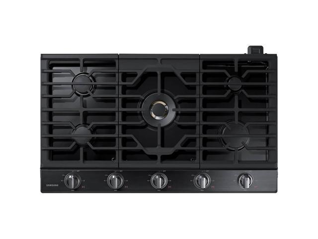 Samsung NA36N7755TG 36 inch Black Stainless 5 Burner Gas Cooktop photo