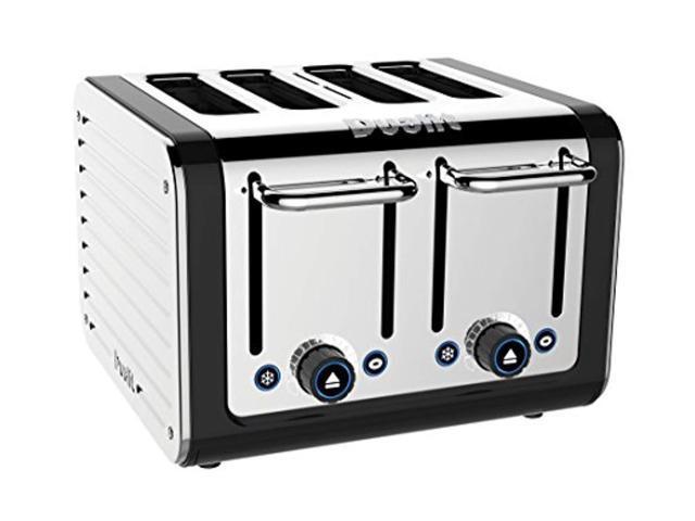 dualit 46555 4-slice design series toaster, black and steel photo