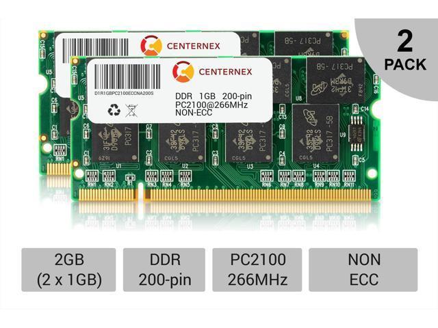 2GB KIT 2 x 1GB Toshiba Satellite S2450-101 S2450-202 S5200-801 Ram Memory