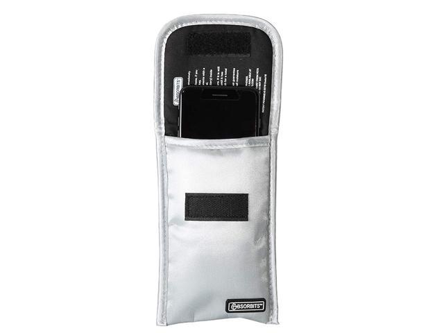 Absorbits Wet Cell Phone Rescue Pouch, Drying Kit for Mobile Phones, Reusable, Silver photo