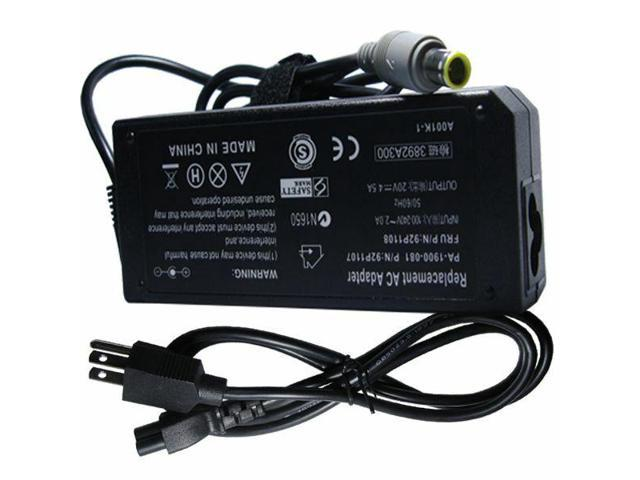 90W AC Adapter Battery Charger for Lenovo ThinkPad T430s T530 239242U i5-3320M