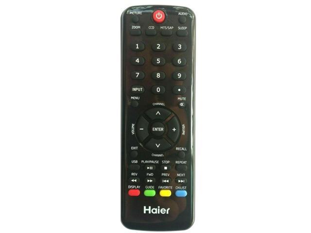 Haier HTR-D09 OEM TV Remote for LE29F2320 LE32F2220 L32D1120 L42C1180A photo