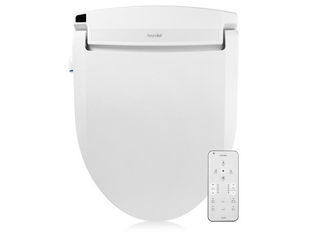 Swash Select DR802 Bidet Seat with Warm Air Dryer and Deodorizer, Elongated White photo