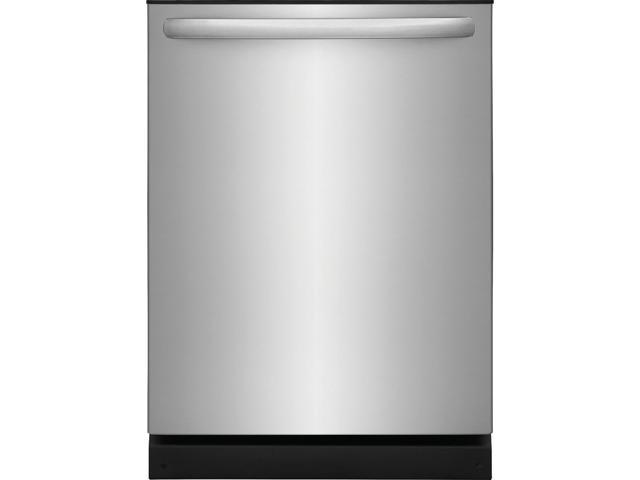 Frigidaire FFID2426TS 24' Energy Star Certified Built-In Dishwasher with OrbitClean Spray Arm Heated Dry 4 Cycles Delay Start and 14 Place photo