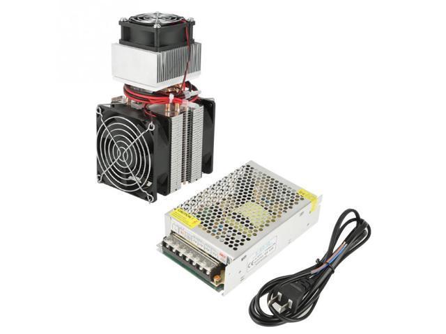 1Pcs 110-240V 72W Electronic Semiconductor Refrigeration Cooler DIY Refrigerator Cooler System(US plug) photo