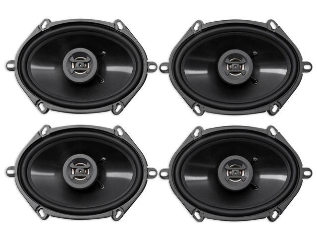 (4) Hifonics ZS5768CX 5x7' or 6x8' 1000 Watt Coaxial Car Audio Speakers