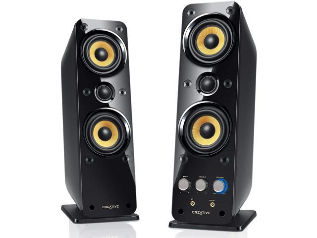 Creative GigaWorks T40 Series II 2.0 Multimedia Speaker System with BasXPort Technology, Black (993293621284 Electronics Audio Audio Components Speakers) photo