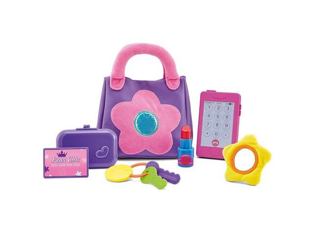 Kidoozie My First Purse, Fun and Educational, For Toddlers and Preschoolers, Encourages Safe Play (993289277938 Toys & Games Toys Pretend Play) photo