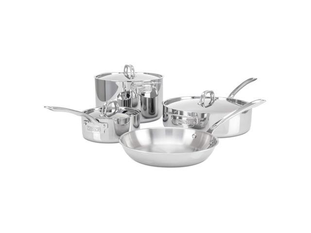 Viking 3-Ply Stainless Steel Cookware Set, 7 Piece photo