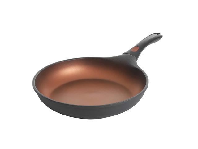 Kenmore Midway Cast Aluminum Nonstick Frying Pan, 11', Black/Copper photo
