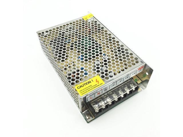 Pasow AC 110/220V DC 5V 10A 50W LED Strip Light Switching Power Supply Adapter (5V, 10A) photo