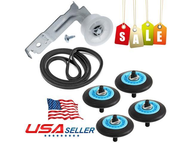 Dryer Repair Kit Belt Roller Idler for Clothes DC97-16782A DC96-00882C PS4133825 photo
