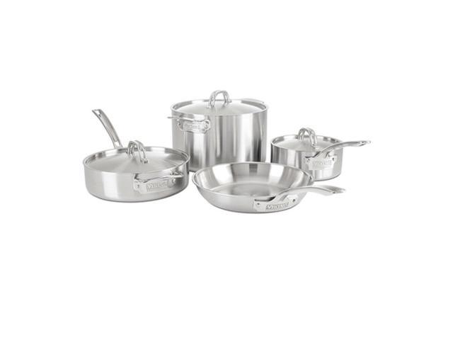 Viking Professional 5-Ply 7-Piece Cookware Set (Satin Finish) photo