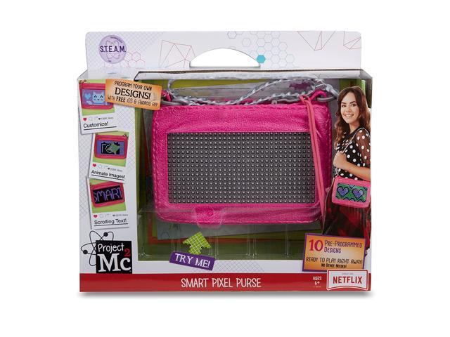 Project Mc2 Pixel Purse, Pink, Medium (545170) (921468854519 Toys & Games Toys Activity Toys) photo