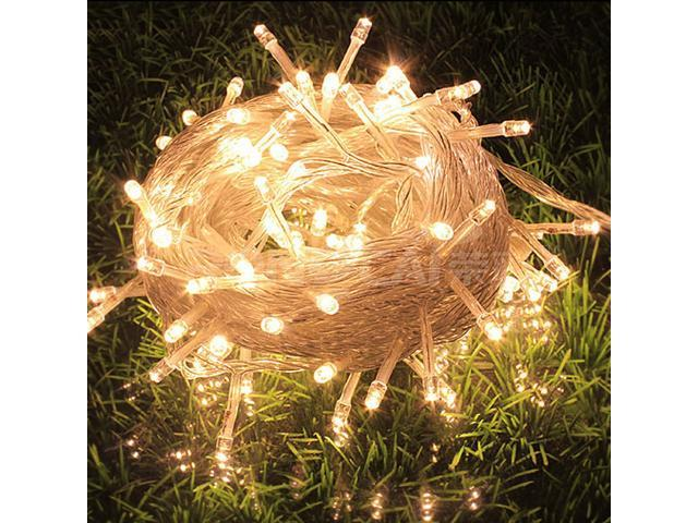 10M 100 LED Halloween Fairy String Party Lights Lamp Xmas Waterproof Warm White