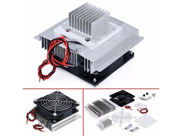 1pc Thermoelectric Peltier Refrigeration Cooler DC 12V Semiconductor Air Conditioner Cooling System DIY Kit photo