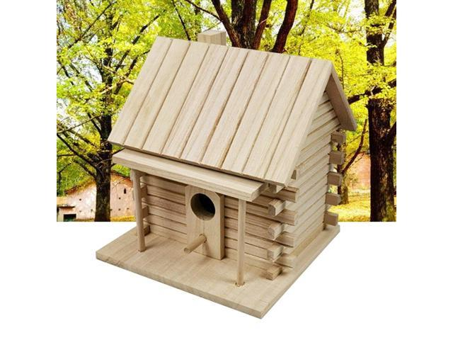 Bed Pet Supplies Decoration DIY Bird Nest Cage Warm Outdoor Garden Hanging House Cockatiels Wooden Box Parrot (Electronics Computers Handheld Devices Pdas) photo