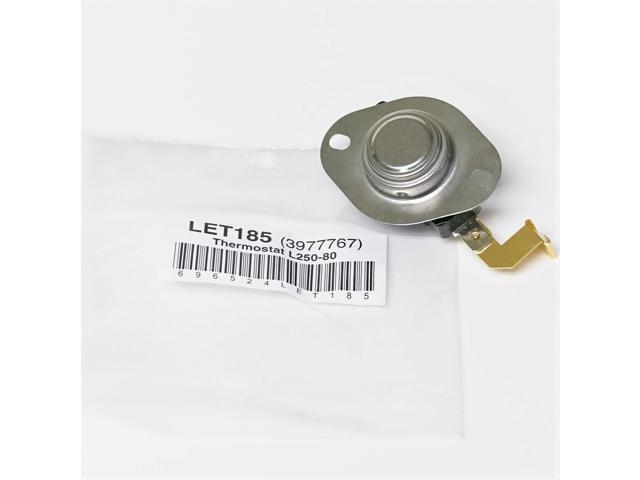 WP3977767 for Whirlpool Kenmore Dryer Thermostat Limit AP6009043 PS11742185 photo