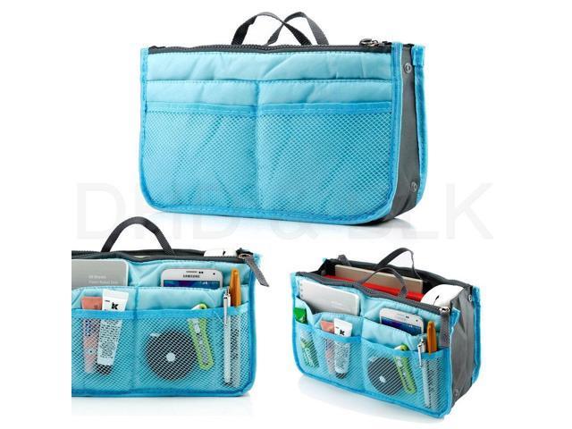 Women Lady Travel Insert Handbag Organiser Purse Large Liner Organizer Tidy Bag (Luggage & Bags) photo