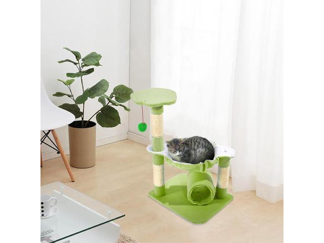 New 28' Pet Cat Tree Condo Play House Scratcher Furniture Post Bed Basket (Home & Garden Household Supplies) photo
