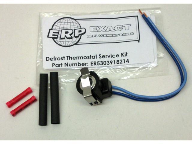 5303918214 for Frigidaire Refrigerator Defrost Thermostat PS469522 AP2150145 photo