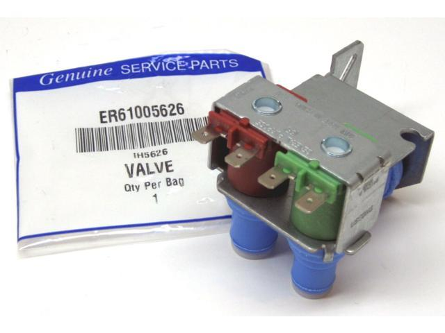 Refrigerator Ice and Water Solenoid Valve for 61005626 Whirlpool Maytag photo