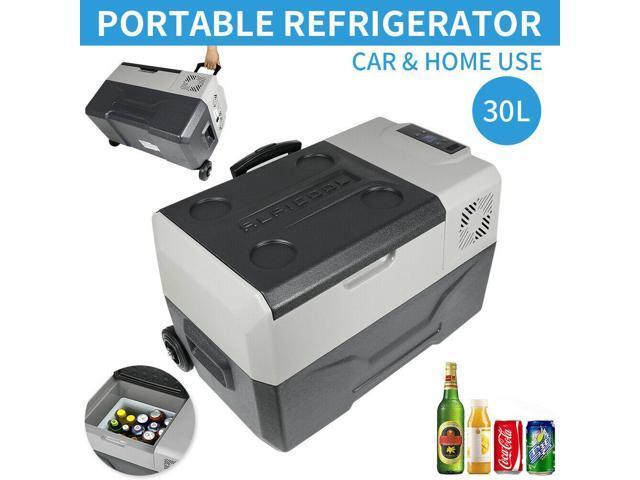 30L Home Car Refrigerator Portable Fridge Electric Travel Freezer 12/24V DC photo